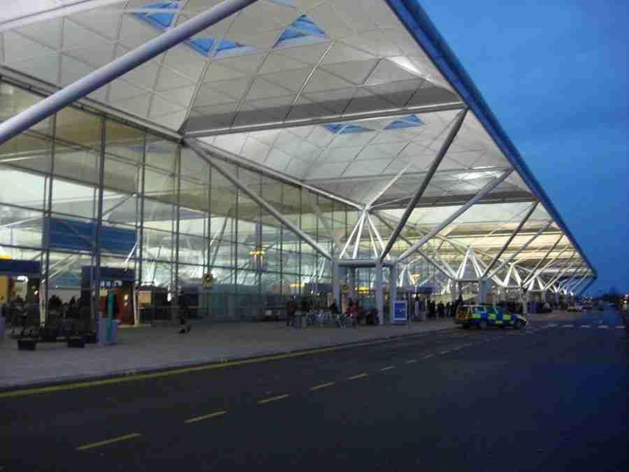 Aeropuerto de Stansted.