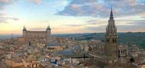 Toledo vista desde el cielo