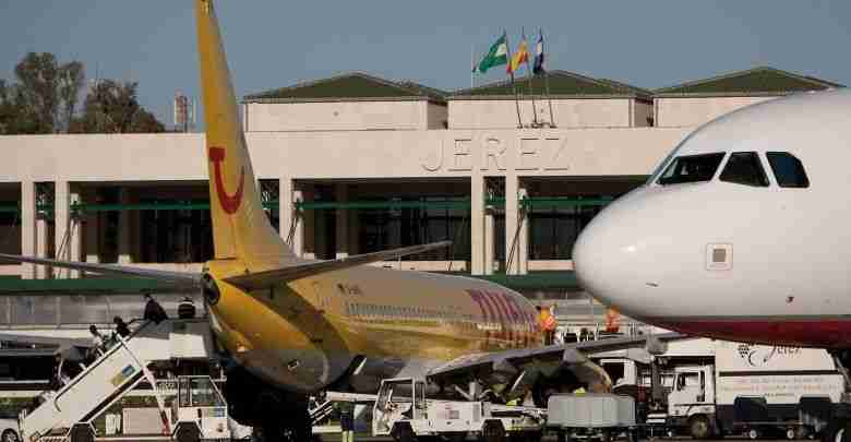 Volar a Cádiz, aeropuerto de Jerez